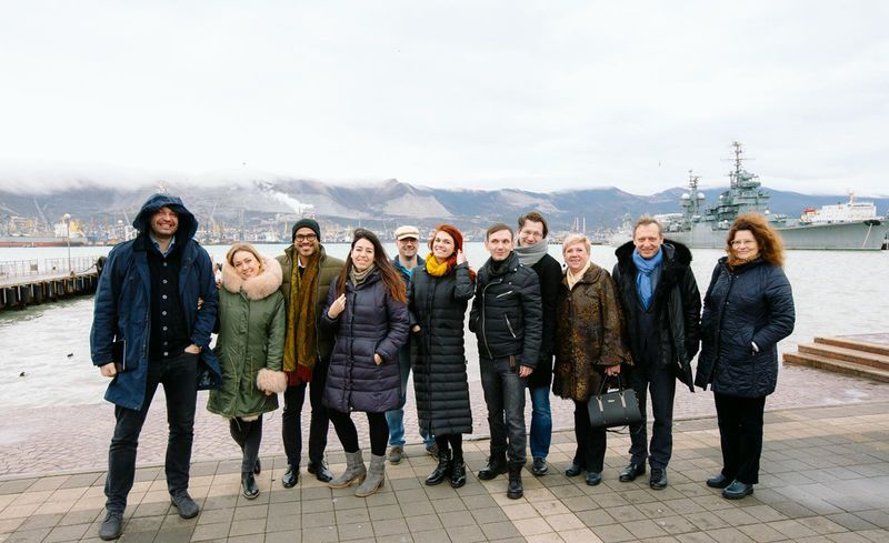 Finalists visit Novorossiysk and are ready to start working on business cluster concept